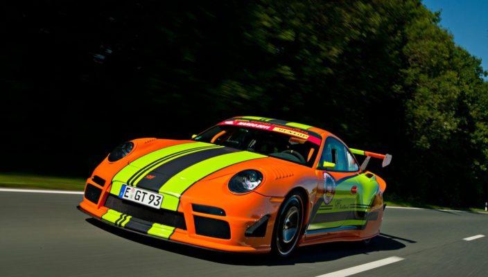 Городской дрэгстер на биотопливе Porsche от 9ff