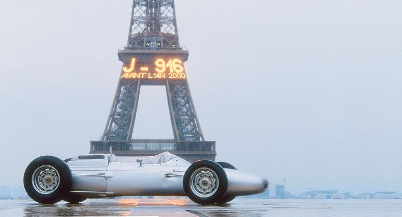 История Порше в Ф1 Порше 804 ГП Франции