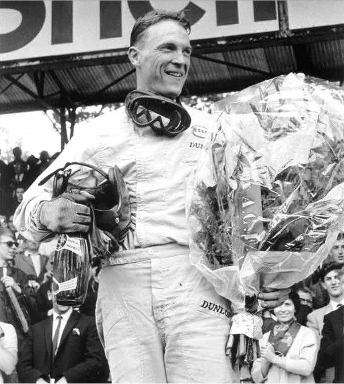 Дэн Герни на ГП Франции 1962 Porsche 804 F1 Порше в Ф1 Дорога к победе