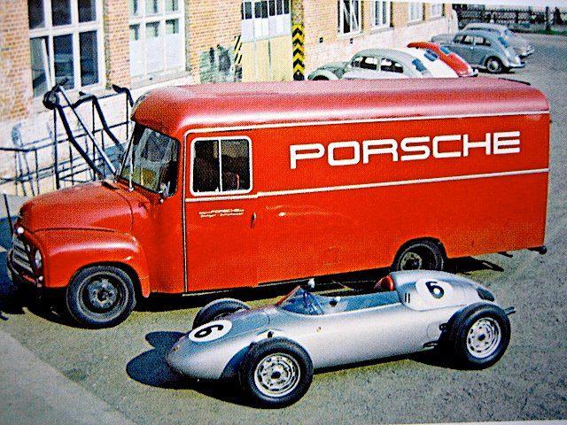 Porsche RSK Nurburgring Porsche в F1 Дорога к победе