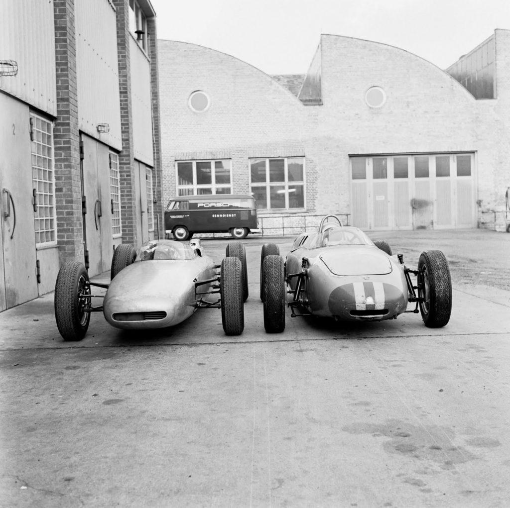 Porsche 804 и 787 История Порше в Ф1