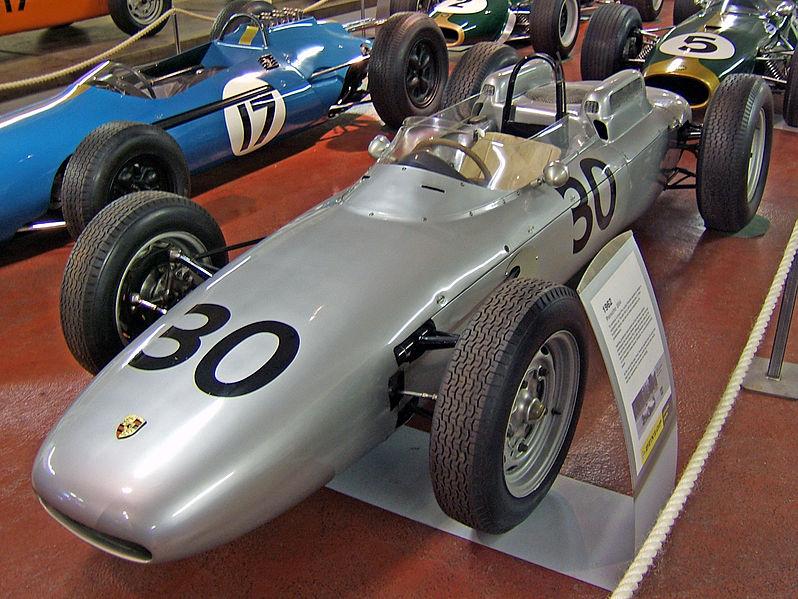 Porsche 804. Музей в Донингтоне