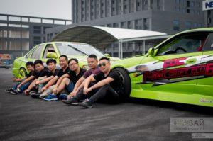 Дрифт в Китае команда из Уханя