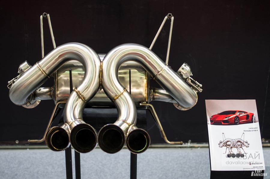 выхлоп для Lambo Aventador