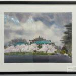 Уханьский университет в картинах Wen Qingwu