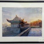 Уханьский университет в картинах Yang Qing