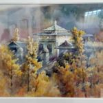 Уханьский университет в картинах Zhou Xiumai