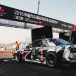GTdrift goldenport Nissan GTR R32Чемпионат по дрифту в Китае Ухань CDC 2016 Wuhan