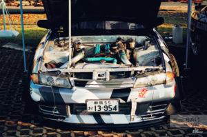 GTdrift goldenport Nissan GTR R32 RB25