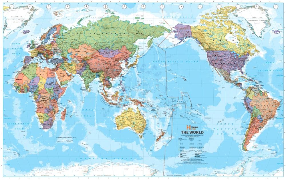 китайская карта мира