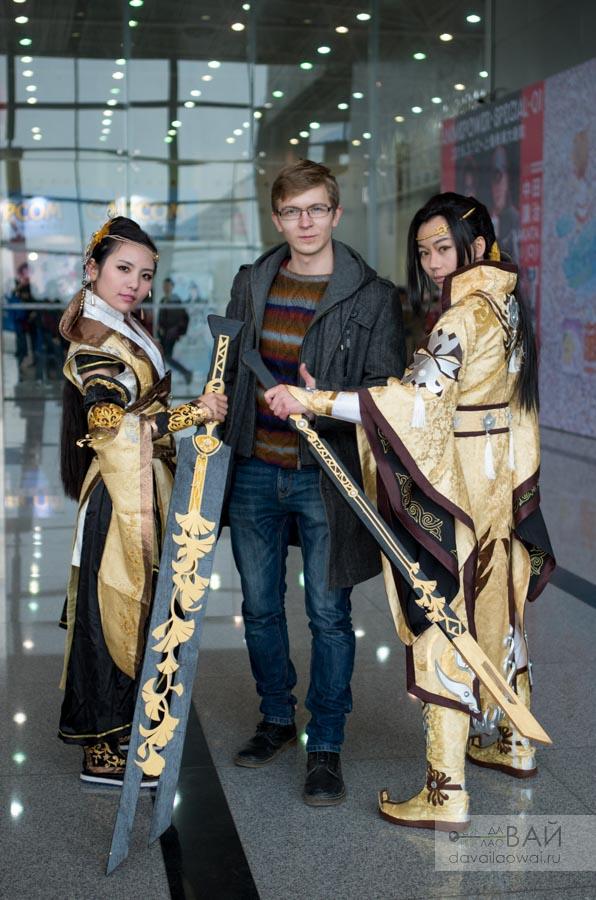 косплей аниме фестиваль китай в ухань