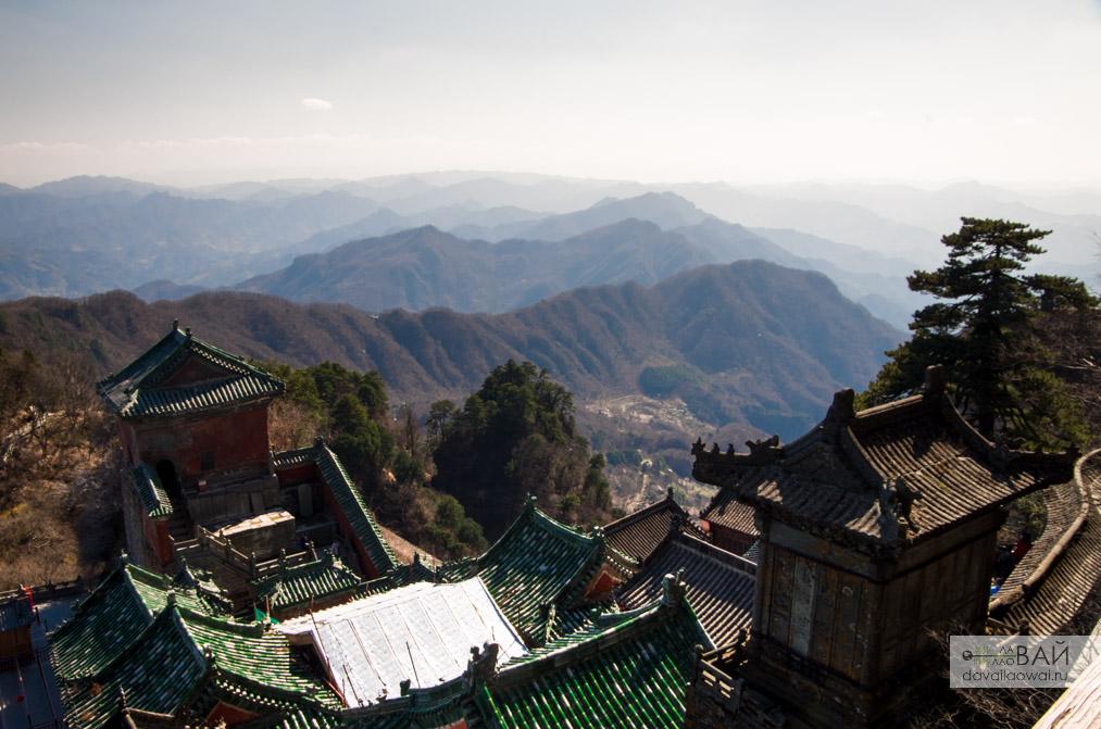 горы уданшань wudang shan wuhan