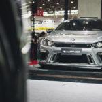 VW scirocco тюнинг выставка китай ухань aspec
