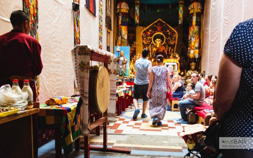 буддийский храм в Петербурге от ДавайЛаовай в России