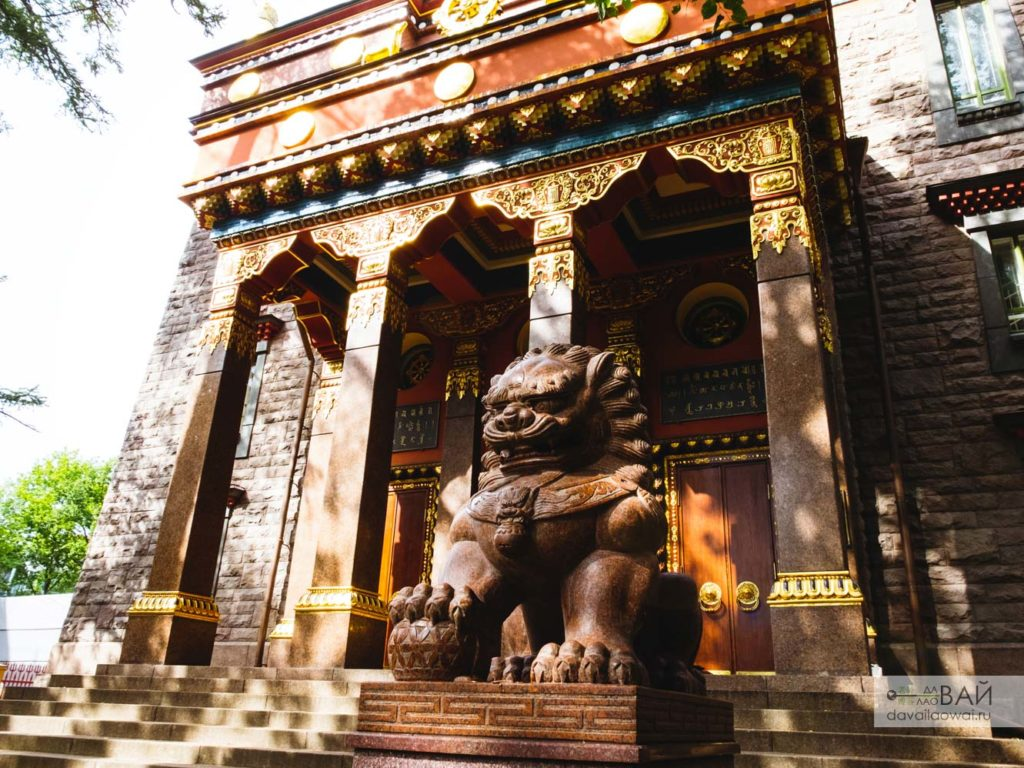 буддийский храм дацан питер