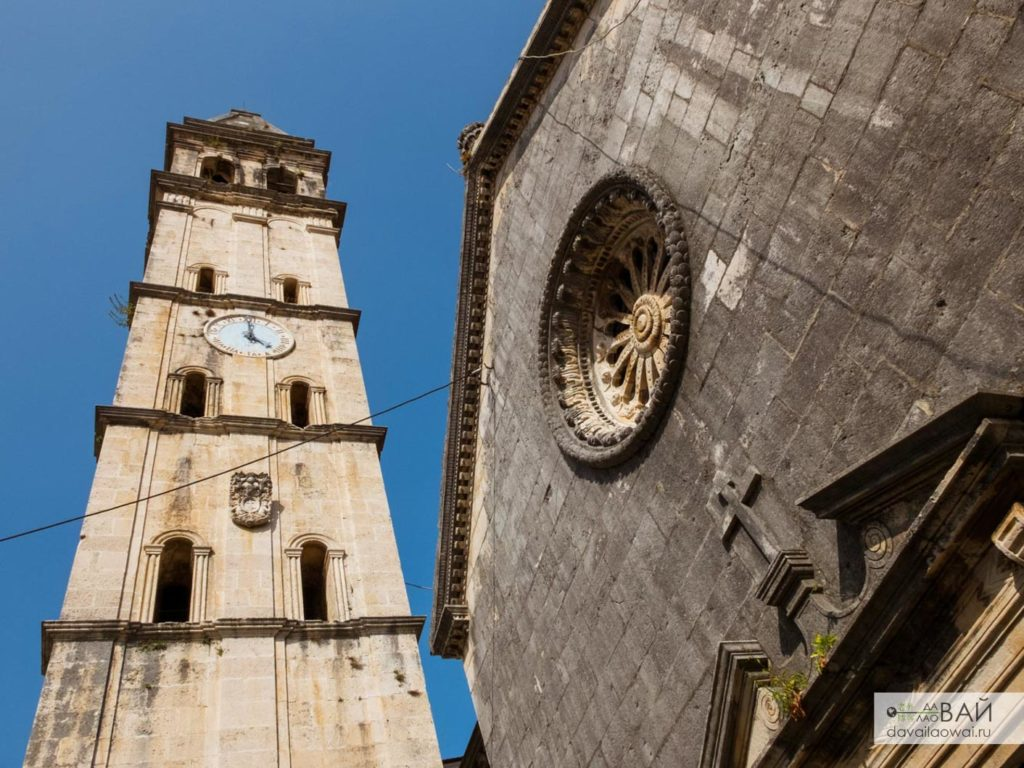 колокольня церковь святого николая черногория пераст