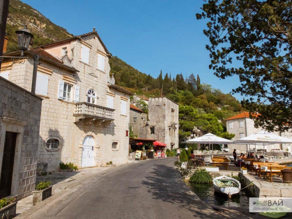 улочки пераста черногория средиземье