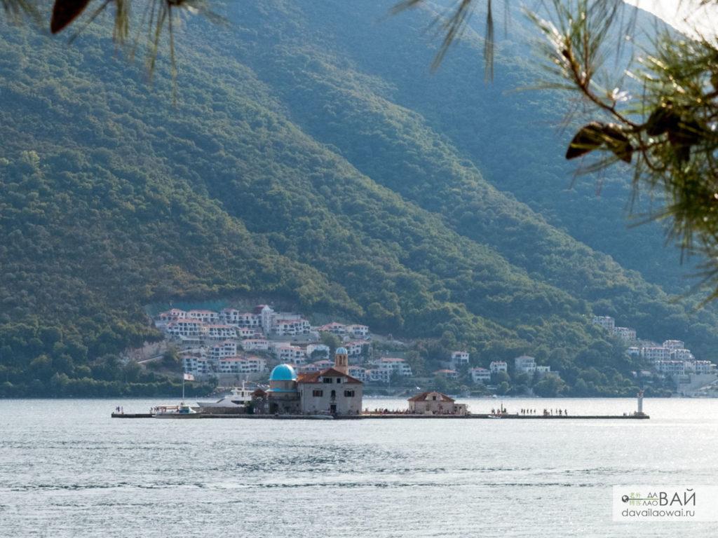 рукотворный остров госпе од шкрпела пераст