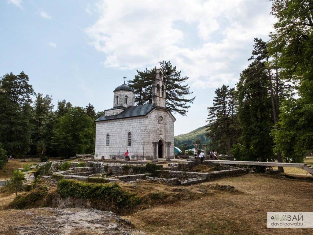 Дворцовая церковь Негошей в Цетине