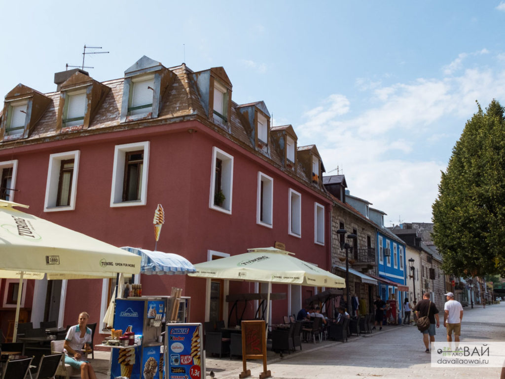 улицы цетине црна гора