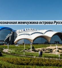 океанариум русский остров владивосток двфу