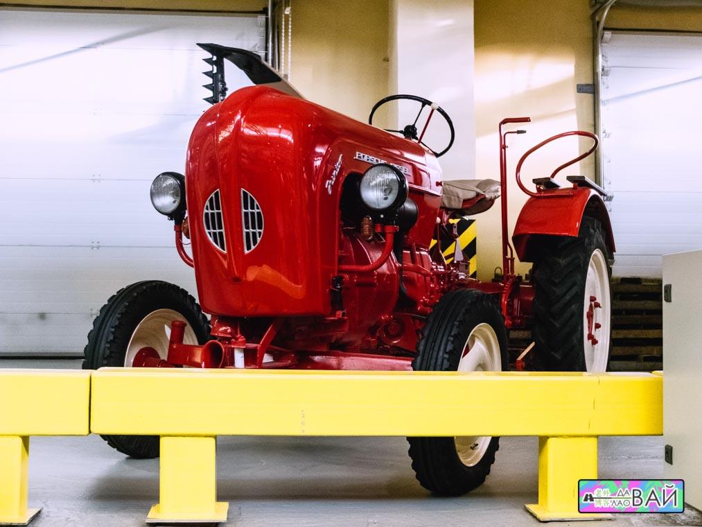 автомузей екатеринбург Porsche diesel junior