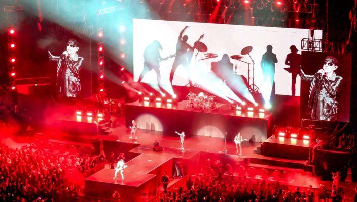 концерт Скорпионс в Шанхае китай