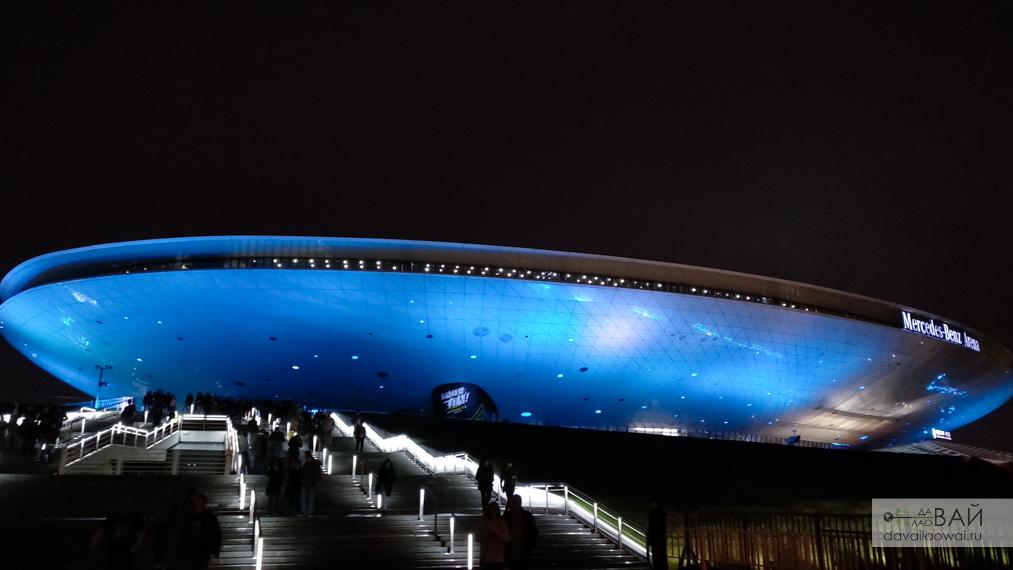 mercedes benz мерседес арена шанхай концертный зал