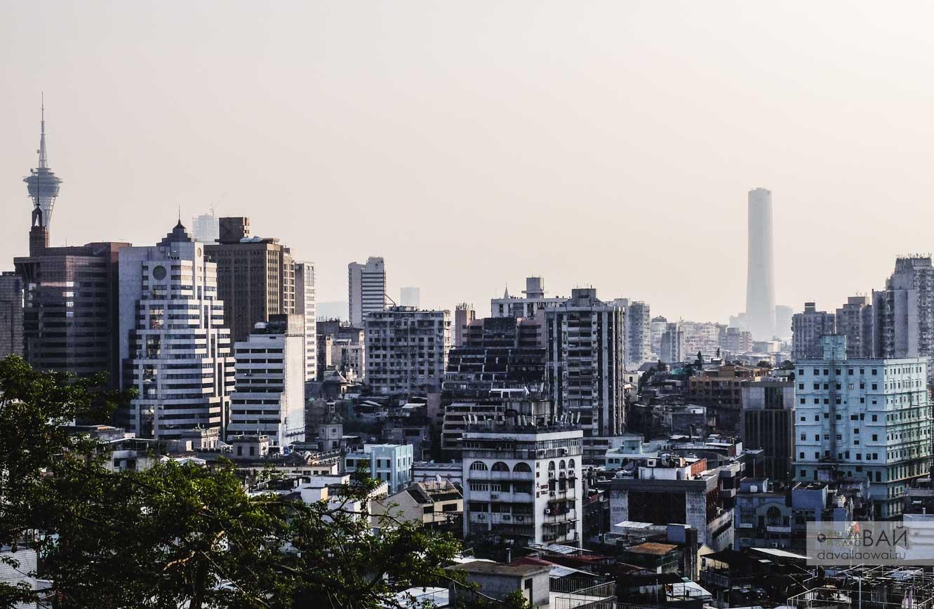 панорама нового макао