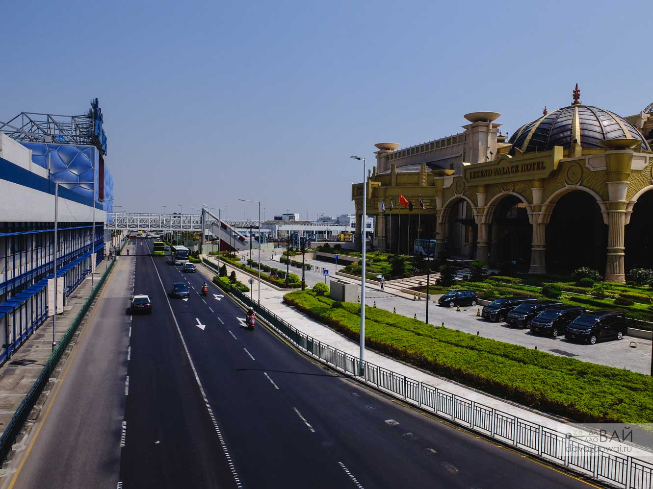 трасса Макао улицы
