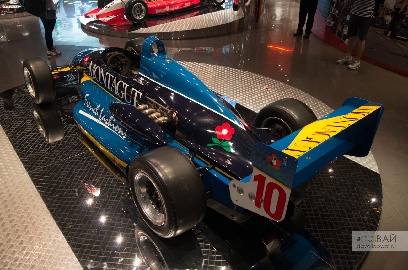 1991 David Coulthard macau gp RALT rt35