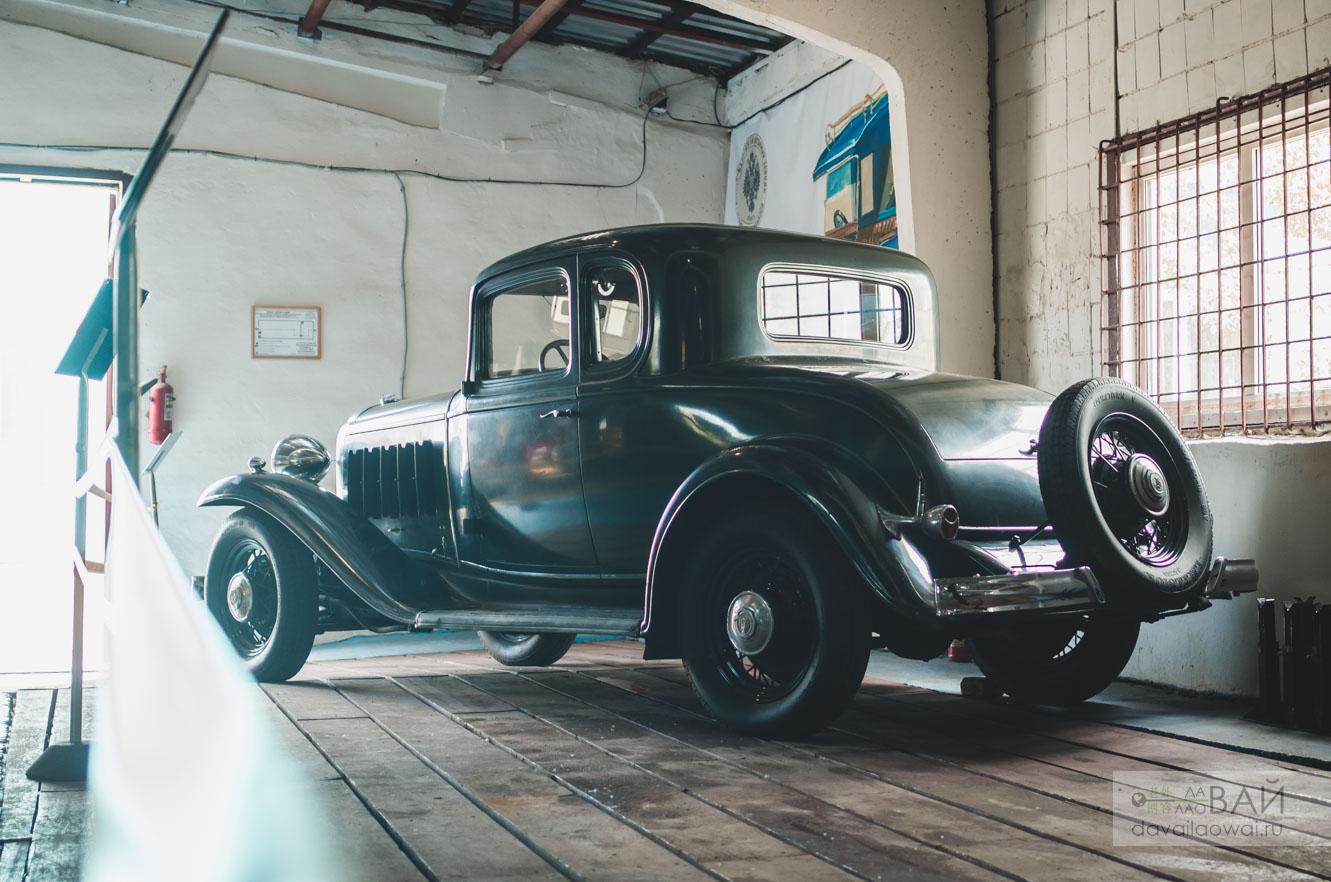музей владивосток Buick Series 50 (32-56) Business Coupe