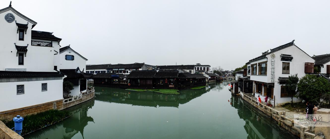 водная деревня Тунли сучжоу