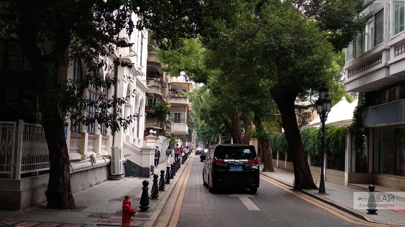 улица остарова шамянь