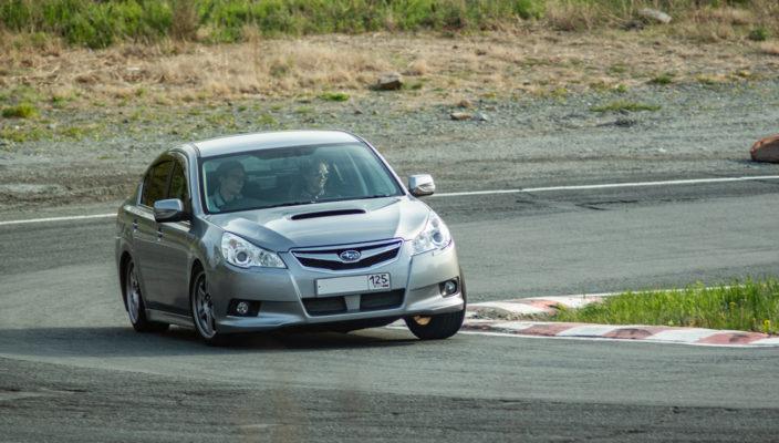 Subaru legacy BM тайм атак змеинка