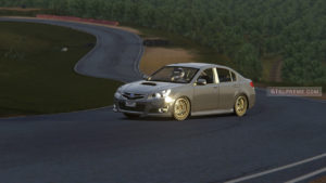 Subaru legacy Assetto corsa Zmeinka