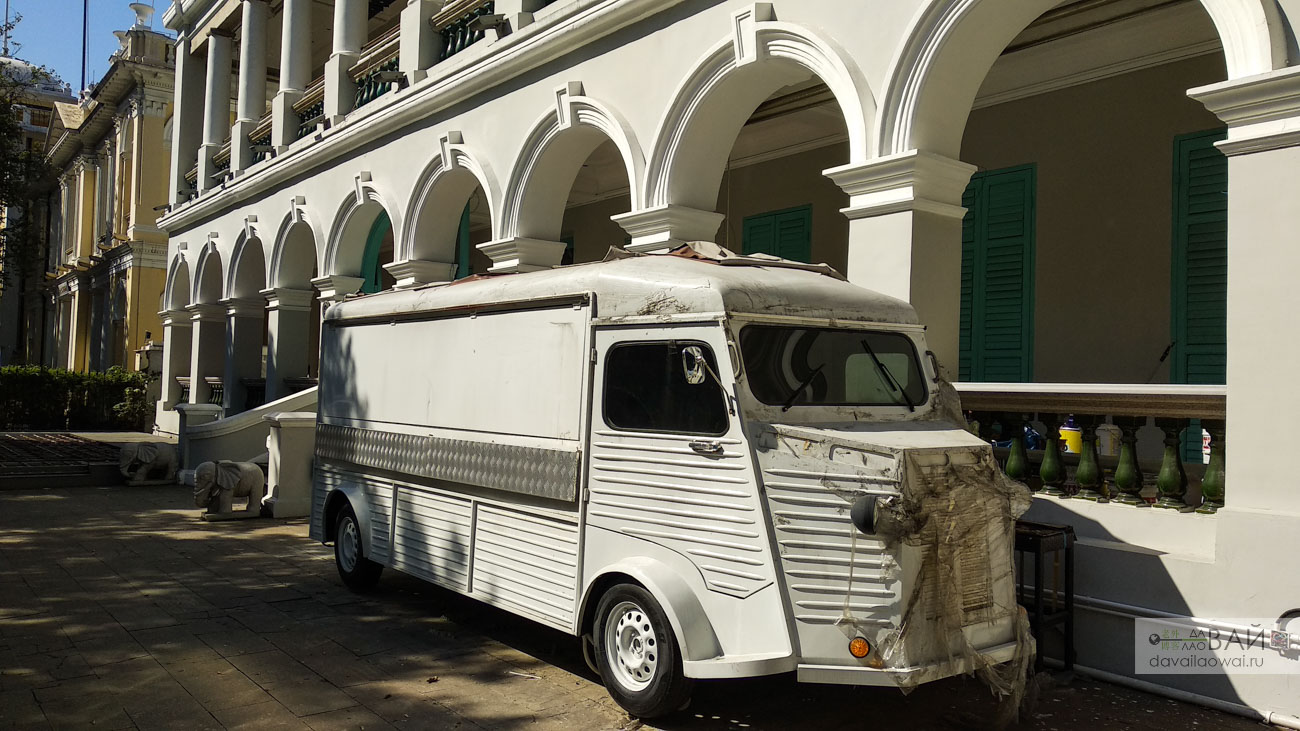 citroen type h van в китае