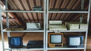 старая электро техника в музее садгород владивосток