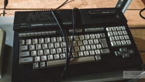 старая электро техника в музее садгород daewoo PC IQ 2000 владивосток