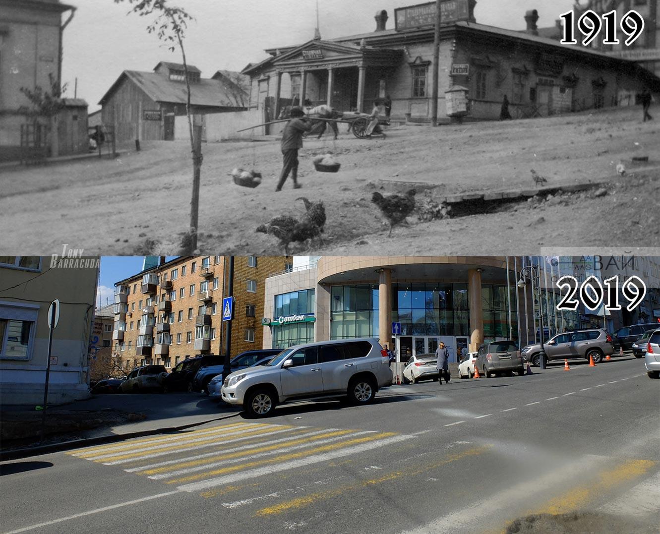 Перекресток улиц Суйфунской и Пекинской – Уборевича и адмирала Фокина.