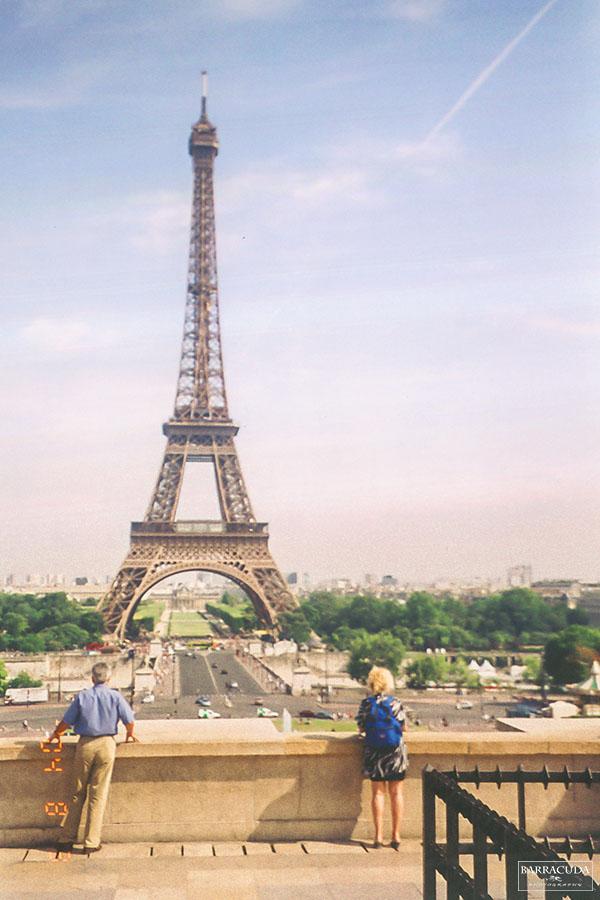 paris film photo eifel tower