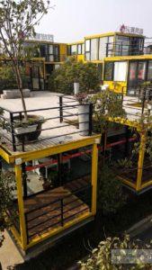 арт район гараж в шанхае