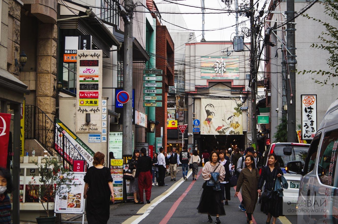 вход на рынок нишики в киото