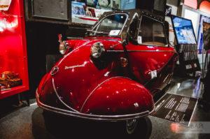 Messerschmitt KR200 in toyota megaweb museum tokyo odaiba