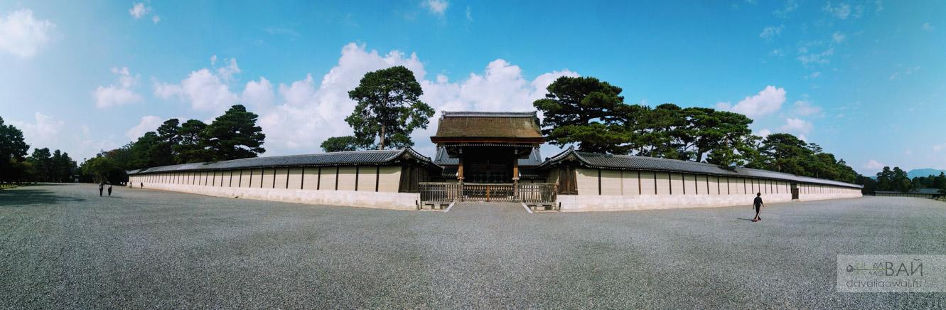 императорский дворец в киото kyoto imperial palace