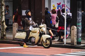 мотоциклисты в токио