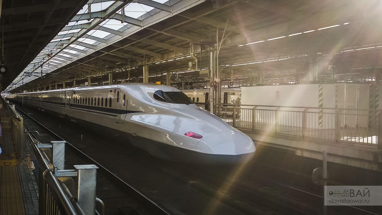 поезд киото токио