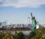 статуя свободы токио одайба