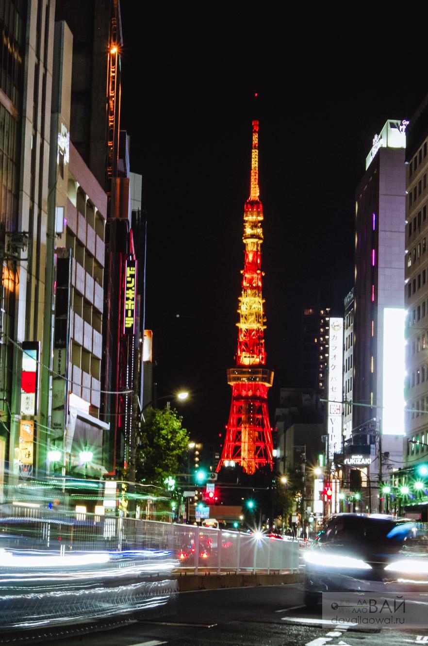 токийская тв башня роппонги