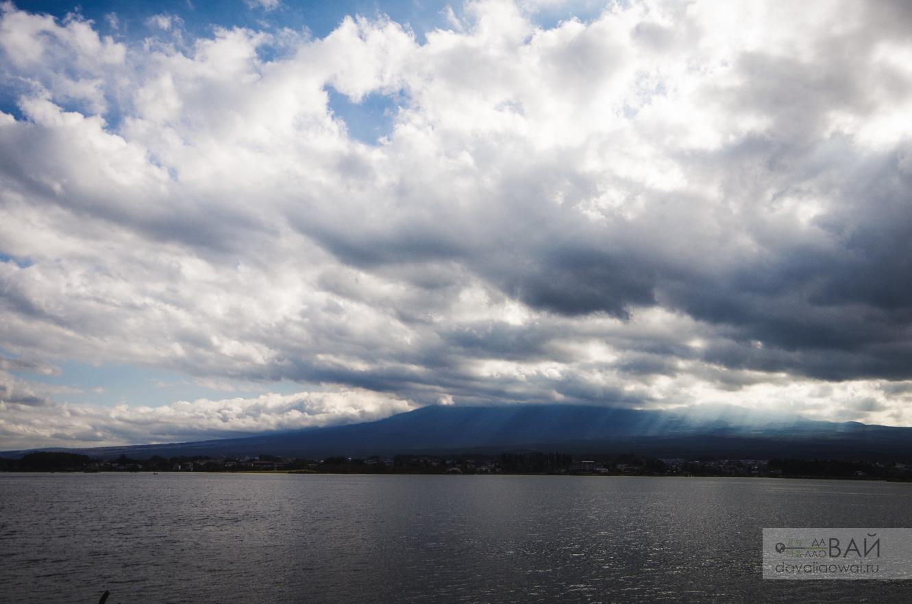 фудзи озеро кавагучико